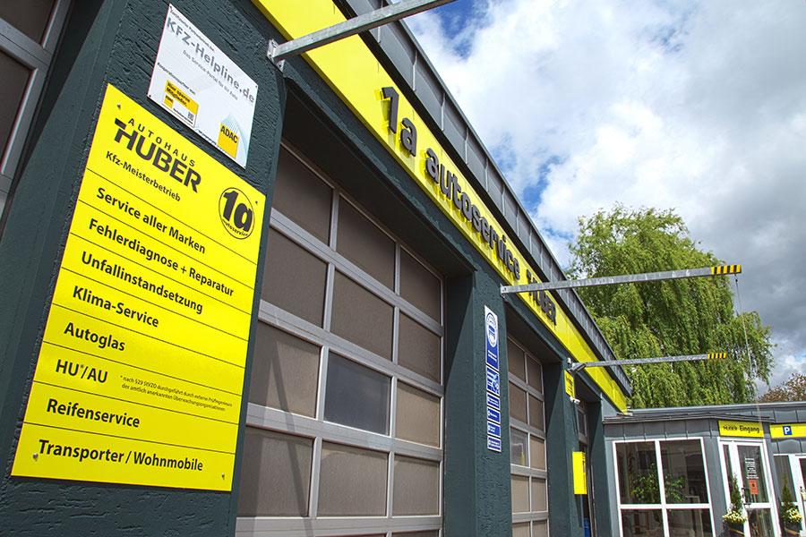1a Kfz-Werkstatt mit Mehrmarkenservice - Meisterbetrieb