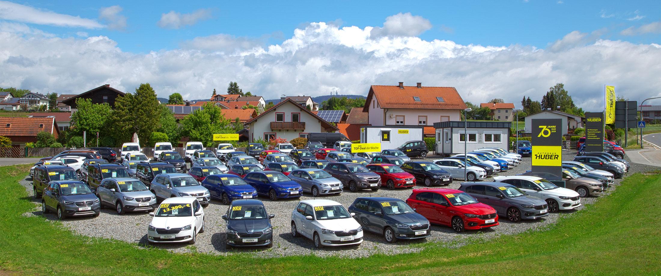 Großer Fahrzeugmarkt und viele Marken