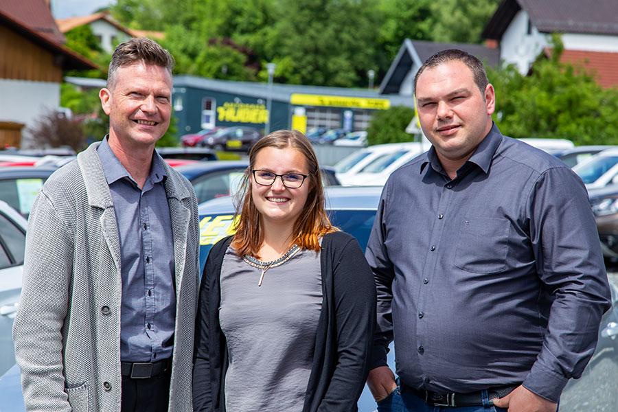 Unser Verkaufsteam in Bad Kötzting - Autohaus Huber