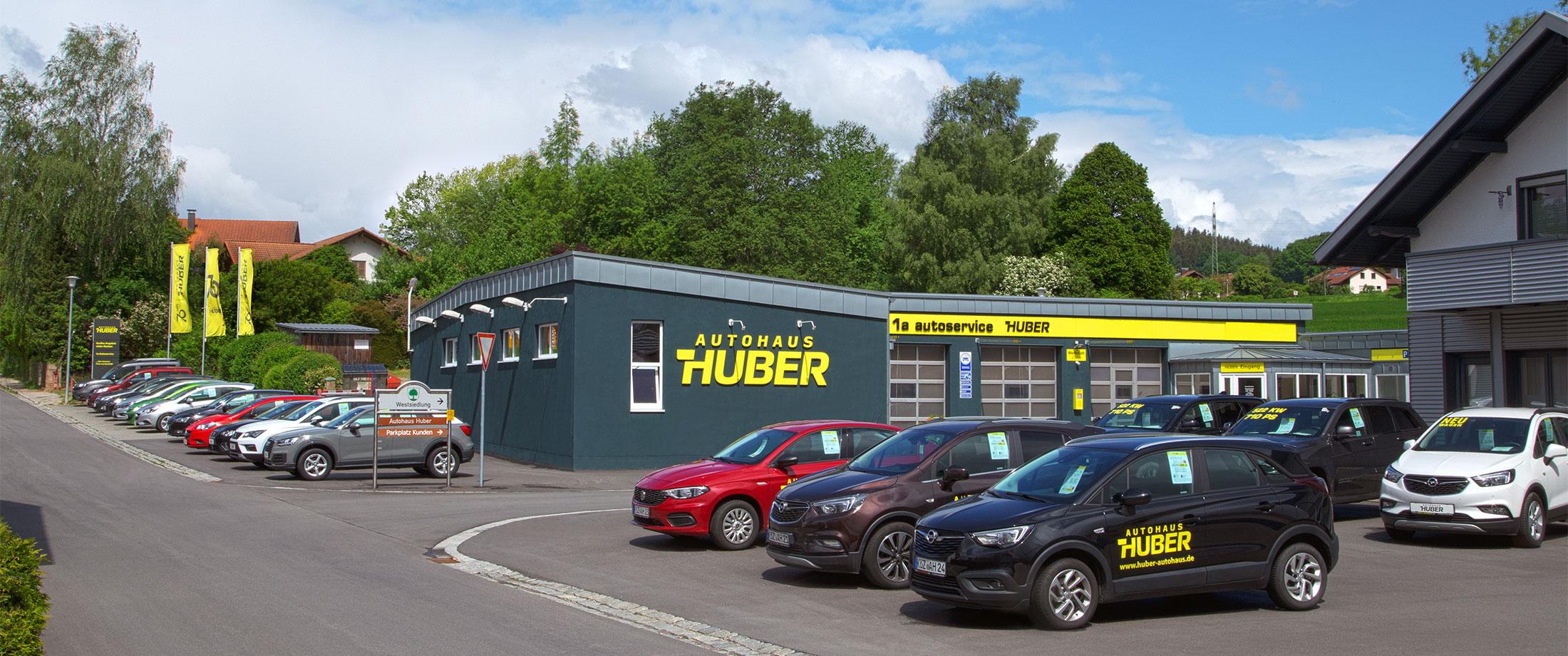 Willkommen im Autohaus Huber